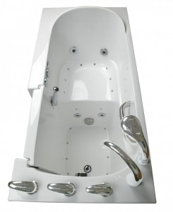 walk in tub features